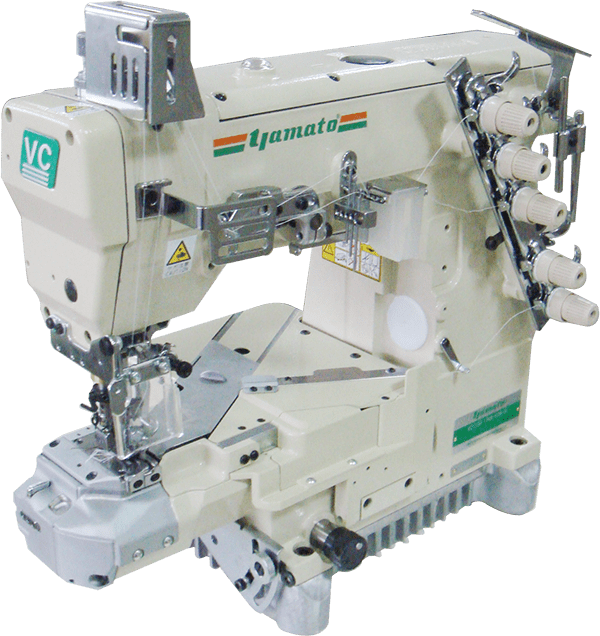 Vc1790 8f Class Economy Type 2 3 Needle Streamline Cylinder Bed Interlock Stitch Machine Economy Products Yamato Sewing Machine Mfg Co Ltd